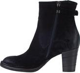 Alberto Fermani Isabela Ankle Boot Black Suede