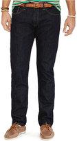 Polo Ralph Lauren Big and Tall Hampton Straight-Fit Rinse-Wash Jean
