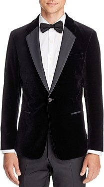 Theory Chambers Velvet Slim Fit Dinner Jacket
