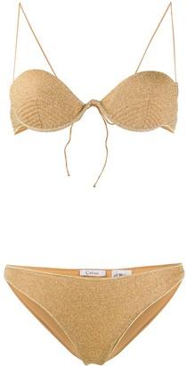 Oseree Shimmer Bikini Set