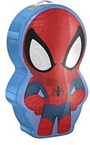 Marvel Philips Spider Man Children's Pocket Torch and Night Light with Integrated LED, 1 x 0.3 W