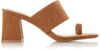 Head Over Heels Jaydey Toe Loop Block-Heel Sandals