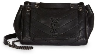 Saint Laurent Small Nolita Leather Shoulder Bag