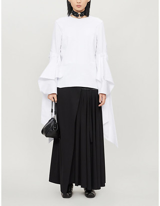 Selfridges Frederick oversized cotton top
