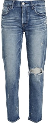 Moussy Helendale Distressed Skinny Jeans