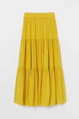 H&M Long Skirt - Yellow