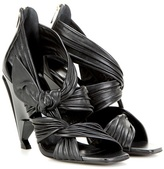Jimmy Choo Kyle 110 leather sandals