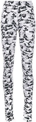 MM6 MAISON MARGIELA camouflage-print leggings