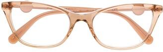 Versace Medusa cat-eye frame glasses