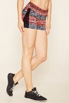 Forever 21 FOREVER 21+ Active Abstract Print Shorts