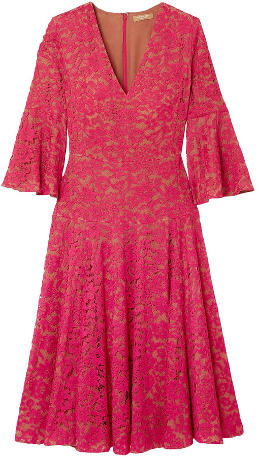 Michael Kors Collection Corded Lace Dress