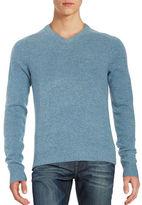 Original Penguin Marled Wool V-Neck Sweater