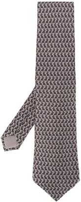 Hermes Pre-Owned '2000s patterned tie