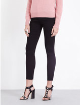 Gucci Panther skinny high-rise jeans