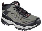 Skechers Men's Afterburn Geardo Memory Foam Mid Top Sneaker