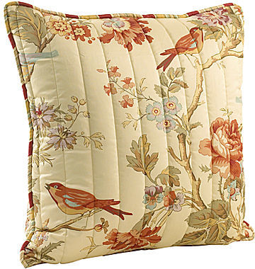 Waverly Charleston Chirp Quilted Decorative Pillow