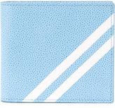 Thom Browne diagonal stripe billfold wallet - men - Calf Leather - One Size