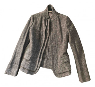 Bottega Veneta Grey Wool Jackets