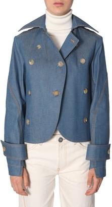 Lanvin Oversize Collar Denim Jacket