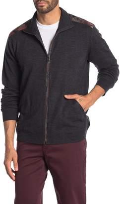 Belstaff Coombewood Wool Zip Up Jacket