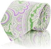 Etro Men's Paisley Jacquard Necktie-GREEN