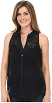 Roper 0352 All Over Lace Sleeveless Blouse