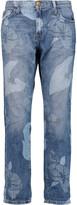 Current/Elliott The Fling printed boyfriend jeans