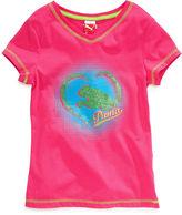 Puma Kids T-Shirt, Girls Heart Tee