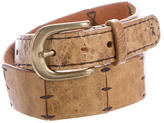 Henry Beguelin Leather Buckle Belt