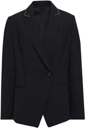 Brunello Cucinelli Bead-embellished Wool-blend Blazer