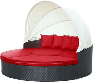 Modway Outdoor Modway Quest Canopy Outdoor Patio Daybed
