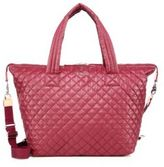 M Z Wallace Sutton Large Quilted Nylon Duffel Bag