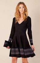 Hale Bob Urmi Harlequin Hem Dress In Black
