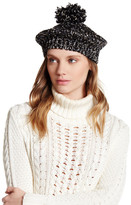 David & Young Boucle Metallic Beret