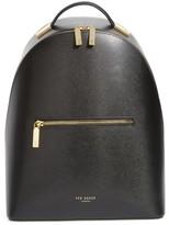 Ted Baker Mini Jarvis Leather Backpack - Black