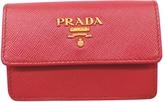 Prada Pink Leather Wallet