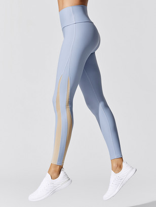 Carbon38 Blocked Mesh Legging