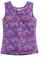 Jacques Moret Girls 4-14 Triangle Abstract Dance Tank Top