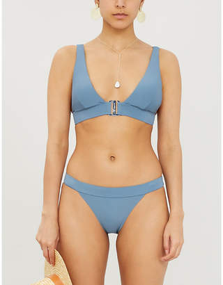 Ted Baker Clasp-front triangle bikini top