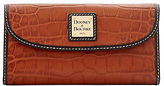 Dooney & Bourke Croco Continental Clutch