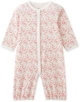 Petit Bateau Baby girls printed combi-sleeper