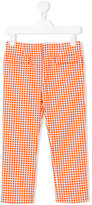 Marni check trousers - kids - Cotton - 4 yrs