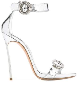 Casadei metallic stiletto sandals
