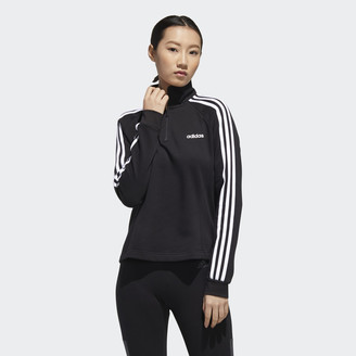 adidas Essentials 3-Stripes Fleece 1/4 Zip Jacket