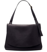 The Row Mail Bag in Smooth Saddle Leather