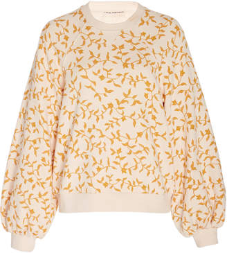Ulla Johnson Ebba Floral Pullover Sweater