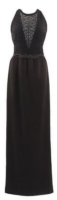 Anna Etter Maxi Black Phemie Dress