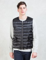 MKI MIYUKI ZOKU Black Nylon Gillet Vest