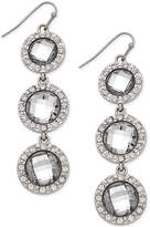 INC International Concepts Triple Stone Linear Earrings
