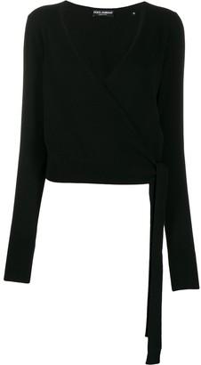 Dolce & Gabbana Cashmere Wrap Cardigan